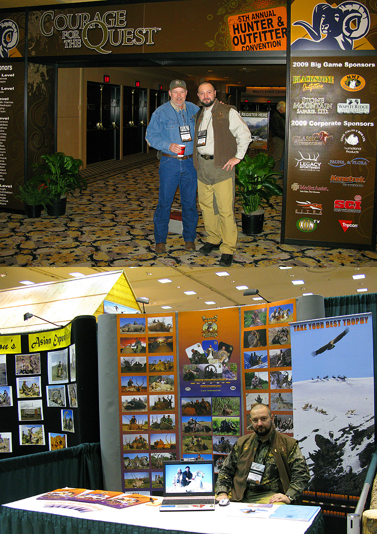 Las Vegas 2009 - 5th HUNTER & OUTFITTER CONVENTION- GRAND SLAM/OVIS EXHIBITION