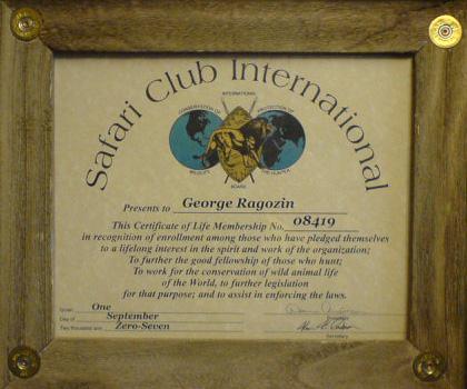 SCI Life member George Ragozin